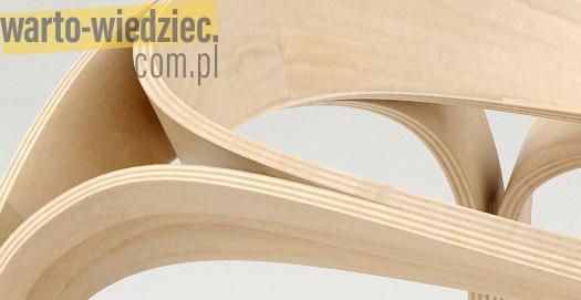 Sklejka gięta - popularny materiał